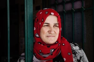 Women's advocacy worker Marian Dirani at her office in Lebanon