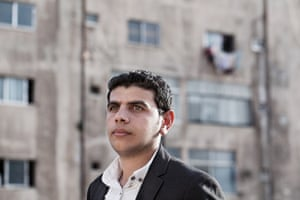 Journalist Ahmad Abu Hamad knows first-hand what it is like arriving in a new country as a refugee
