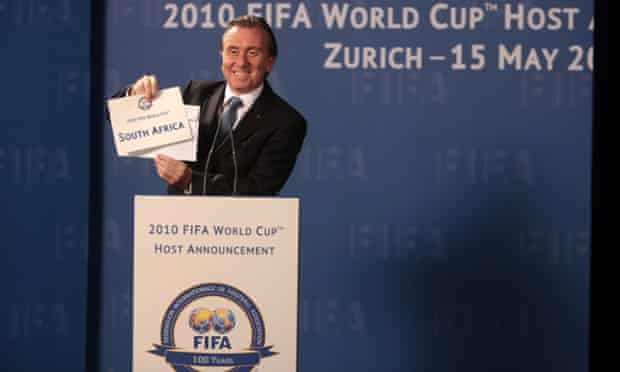 Tim Roth as Sepp Blatter in a scene from United Passions