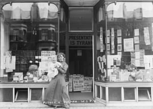The Putney and Fulham WSPU branch shop and office, 905 Fulham Road 1910