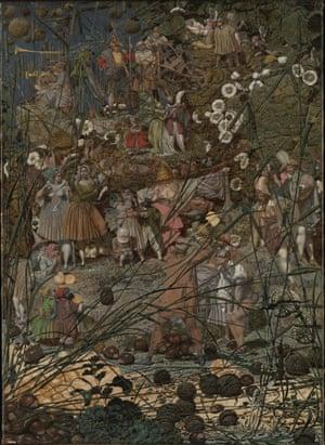 Richard Dadd. The Fairy Feller's Masterstroke (c. 1855-64)