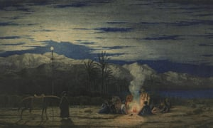 Richard Dadd, The Artist's Halt in the Desert,c 1845, Watercolour on paper