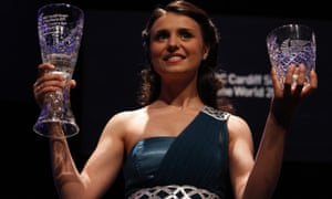 Moldavian soprano, Valentina Naforniţa, who won the 2011 Cardiff Singer of the World competition.