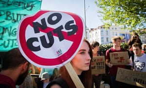 Austerity demonstration