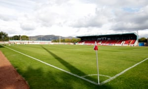 General view of Forthbank stadium, home of Stirling Albion