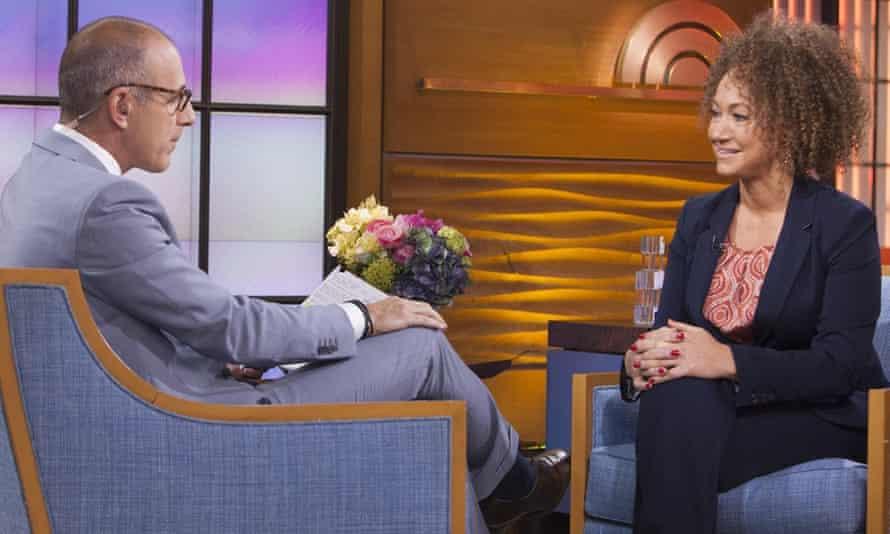 Rachel Dolezal interviewed by Matt Lauer on NBC.