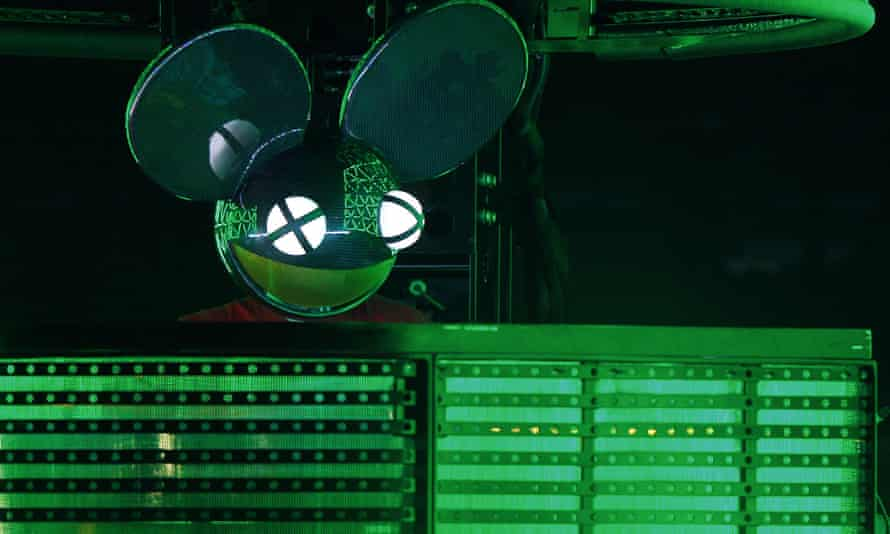 Joel Thomas Zimmerman, better known as deadmau5 performs at the Bonnaroo Music and Arts Festival in June 2015