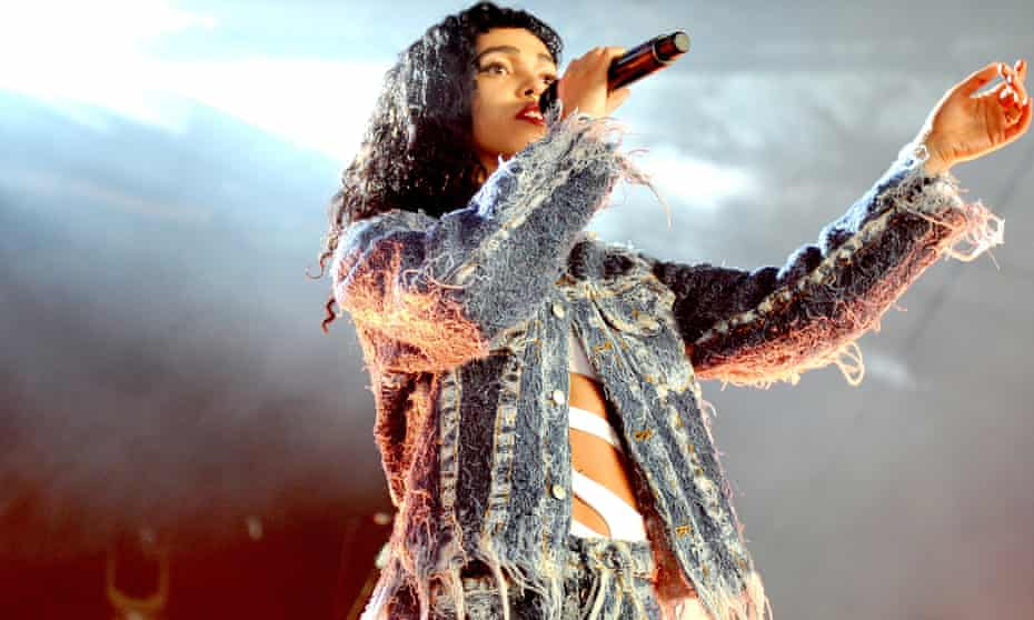 FKA twigs performing at Parklife festival in June 2015