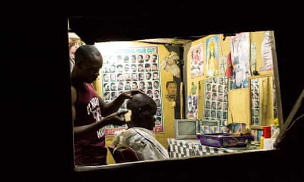 barber in kenya crop