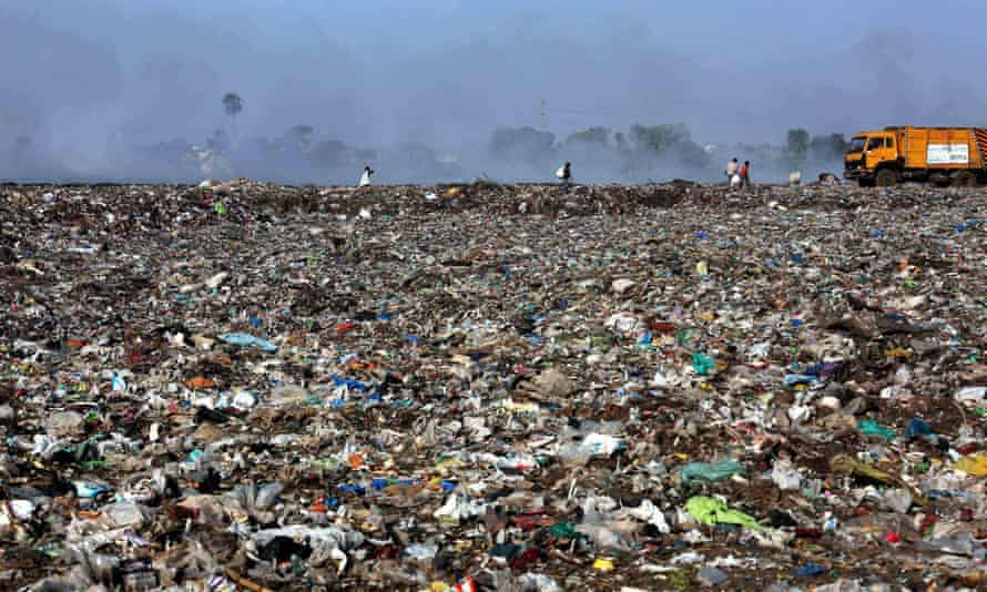 A landfill, in Bhopal, India.
