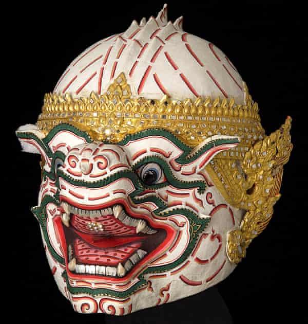 Hanuman monkey mask from Thailand