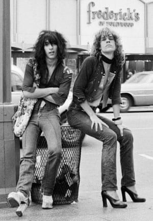 Johnny Thunders and David Johansen, 1973