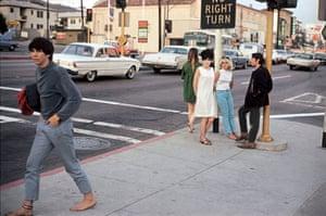 LA Street Corner, 1966