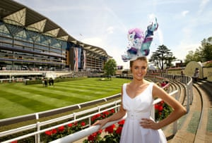 Grace Shaw, from Essex, wearing a hat inspired by My Little Pony