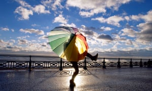 person dancing with umbrella