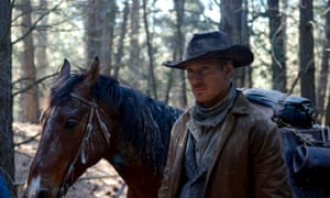 Michael Fassbender as cowboy Silas Selleck in John Maclean's Slow West