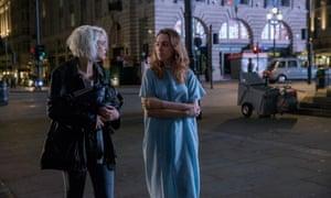 Riley (Tuppence Middleton) and Nomi (Jamie Clayton) meet in Sense8.