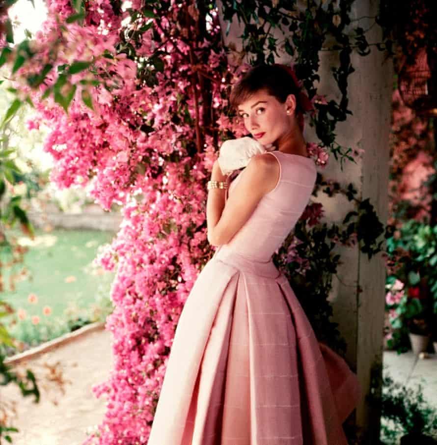 Undated photograph of Audrey Hepburn.