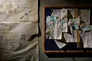 The Drowned Man: noticeboard