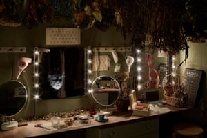 The Drowned Man: dressing room