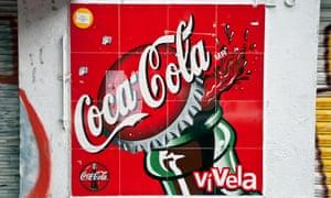 Coca-Cola sign in Mexico City