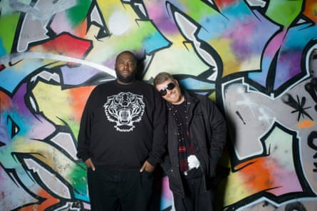 Run the Jewels: Killer Mike, left, and El-P.