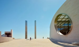 The Researching Centre for The Unknown of the Champalimaud Foundation, in Lisbon.