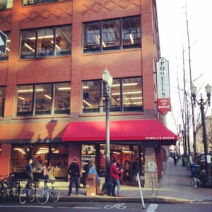 """Paradise for bibliophiles ... Powell's. Photograph: <a href=""""https://witness.theguardian.com/assignment/5435135ae4b0cd82a095eef9/1189061"""">Amanda Katelin/GuardianWitness</a>"""