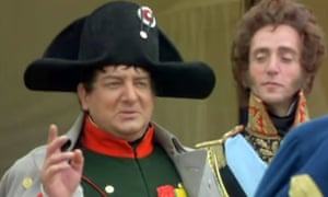 Simon Russell Beale as Napoleon in Blackadder Back and Forth.
