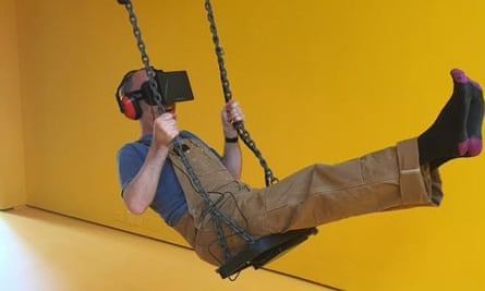 Brendan Walker thoroughly enjoying using Oscillate.