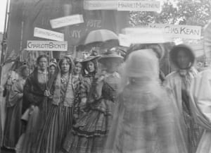 The Historical Pageant of the Women's Coronation Procession, 17 June 1911