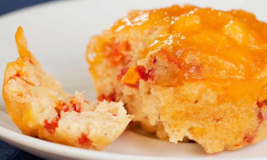 Smokey sweetcorn lunch muffin
