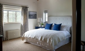 Rooms at the Three Daggers feature huge double beds