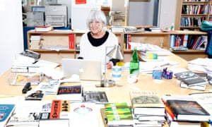 Mary-Kay Wilmers of the London Review of Books in her Bloomsbury office, in 2014.