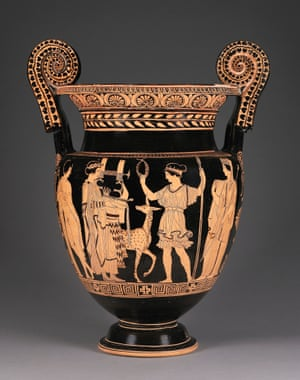 Lucanian red-figure volute krater (415-400BC).