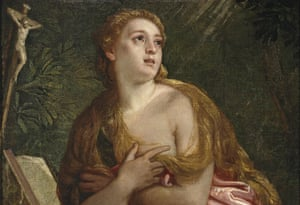 The Repentant Mary Magdalene, 1583. Artist: Paolo Veronese.