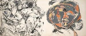 Jackson Pollock, Portrait and a Dream, 1953