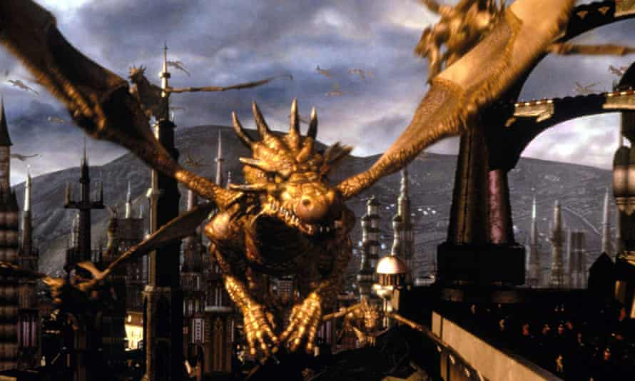 Great flights of fantasy ... a still from the 2000 film Dungeons and Dragons.