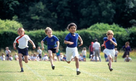 Children's fitness levels have declined, according to the study.