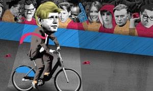 Boris Johnson illustration by Nate Kitch