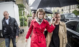 Helle Thorning-Schmidt earlier on during election day.