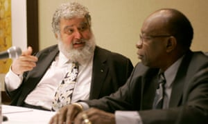 Chuck Blazer, left, and Jack Warner are accused by US prosecutors of carving up more than $150m in bribes between themselves and their associates. Warner has always denied wrongdoing.