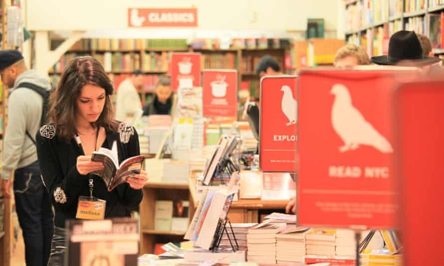 Strand bookshop