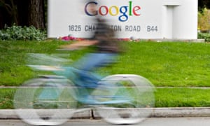 Google cyclist.