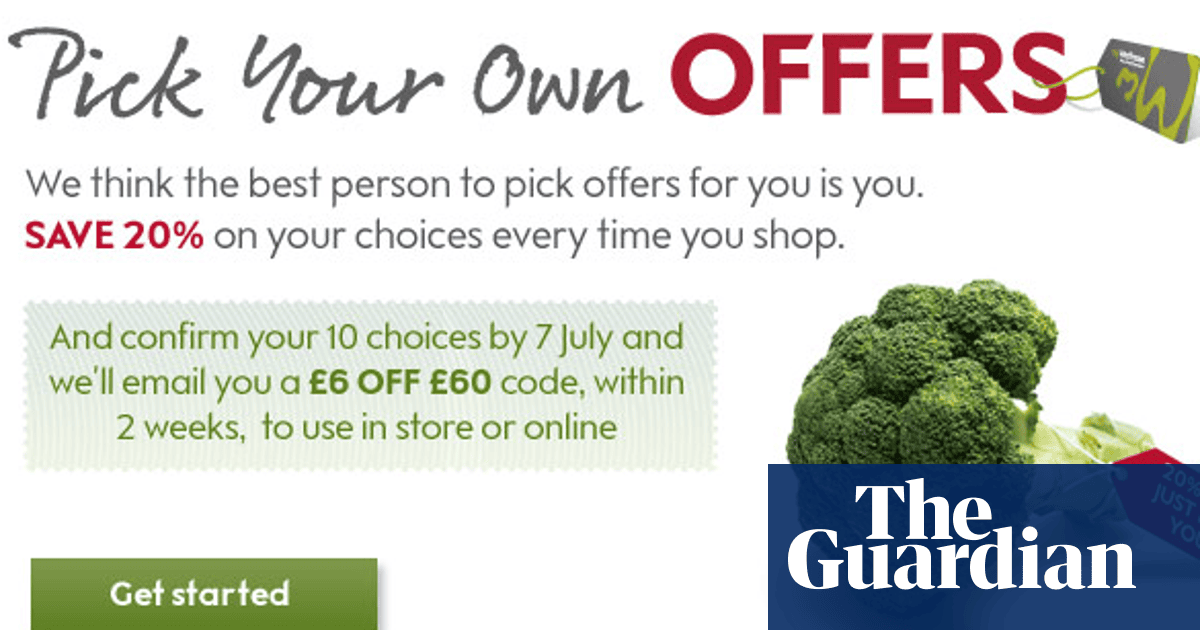db7bd670a322e6 How to make the most of Waitrose's 'pick your own offers' | Money ...