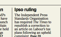 Time Ipso ruling
