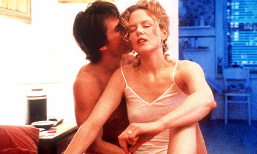 Tom Cruise and Nicole Kidman in Stanley Kubrick's Eyes Wide Shut, an adaptation of Arthur Schnitzler's Traumnovelle