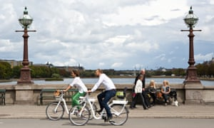 Get on Bycyklen - the City Bikes Copenhagen - and experience the wonderful sights of Copenhagen like a Dane - on two wheels. And with a built in GPS, you can easily find your way around town. More information at: http://byogpendlercyklen.dk/en