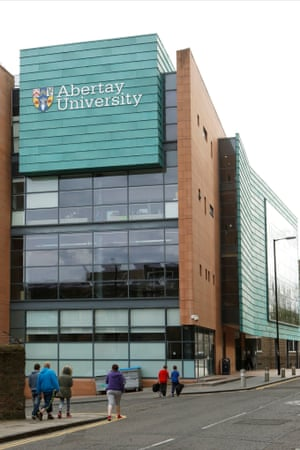 Abertay University Dundee has forged links with the creative industries.