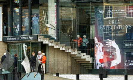 Dundee Rep Theatre, the last repertory theatre in the UK.